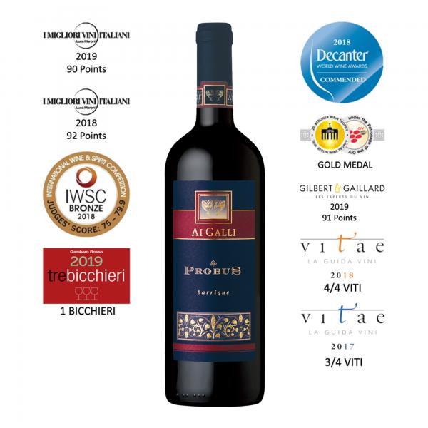 """Ai Galli Vintage Rosso DOC Lison Pramaggiore """"Probus"""" Barrique 2014"""